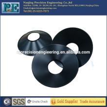 Personalizado de aluminio anodizado cúpula de la sombra de la lámpara