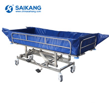 SK005-10H Motorized Hospital Treatment Electric Bath Bed
