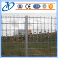 Straight line razor barb wire