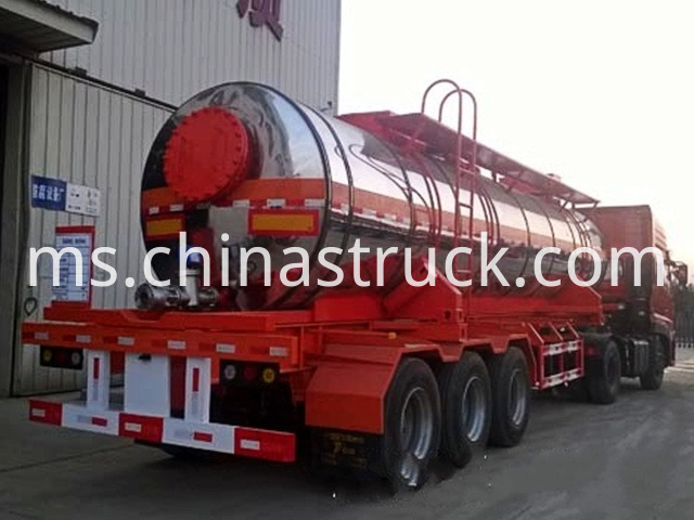 Liquid Sulfur Tanker Trailer
