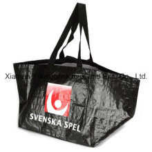 Custom Heavy Duty Laminated Woven PP Large Ikea Style Bag