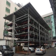 prefab light steel garage structure car shelter garage