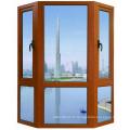 Double vitre de sécurité durable avec cadre en aluminium