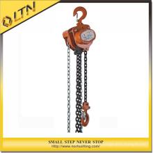 Palan à chaîne et palan à chaîne de construction de 0,5 à 50 t