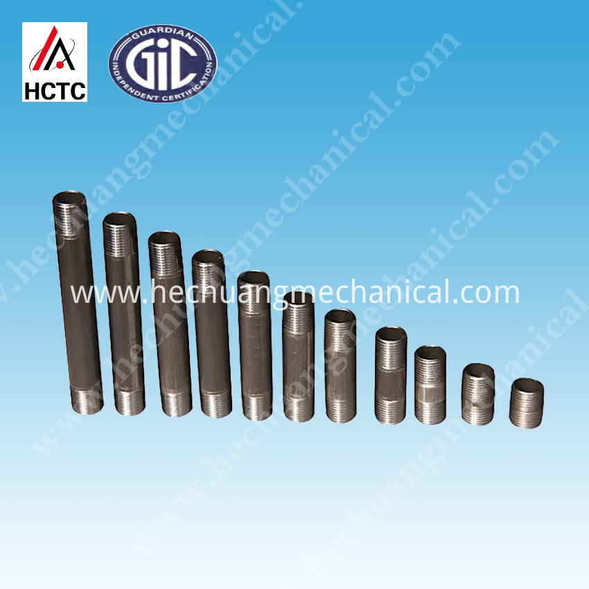 sch40 ASTM A105/106B Pipes Nipples