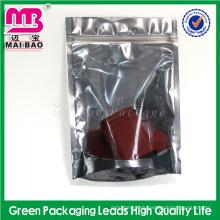 Aluminum Foil LDPE Plastic Zipper T-shirt Packaging Pouch Custom Printed Ziplock Bags