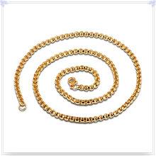 Collar de joyería de moda cadena de acero inoxidable (sh067)
