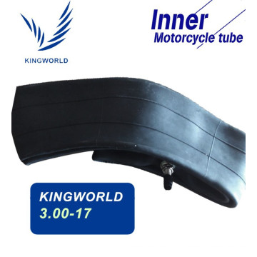 3.00-17 tubes for motorcycle made of high strength rubber material                                                                         Quality Choice