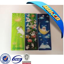 2015 Cute Custom 3D Lenticular Bookmark