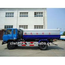 12 tons garbage truck with hanging garbage bin