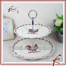 ceramic serving dishes with stand