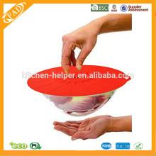 Spécialement Design Durable Flexible Lavable au lave-vaisselle Couvercle en silicone / couvercle d'aspiration / couvercle du couvercle du pot