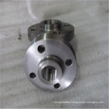 Closed structure steel buckle flange