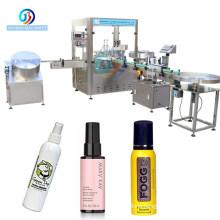 JB-PX4  Automatic Spray Deodorant Hotel Shampoo Bottle Body Butter Shower Gel Filling Machine / Mouth Wash Bottling Machine Line
