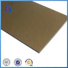 Außenwandpaneele, Bürsten Aluminium Verbundplatte für den Hochbau