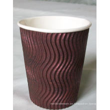 E-Co amistoso de alta calidad de papel de Currugated tazas