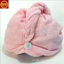 Atacado confortável Variedade Criativa de microfibra secador de cabelo toalhas de banho turbante envoltório