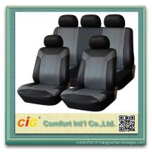 Bas prix concurrentiel personnalisé imprimé pu cuir voiture housses de protection
