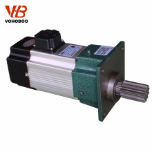 High precision stator and rotor lamination electric gearmotor with gear box for crane
