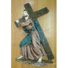 Католическая смола Иисус Христос Крест фигурка
