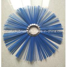 4мм 2шт. Голубая полированная щетка для санитарии (YY-491)