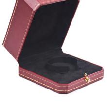 leather jewelry storage box for bracelet box custom logo