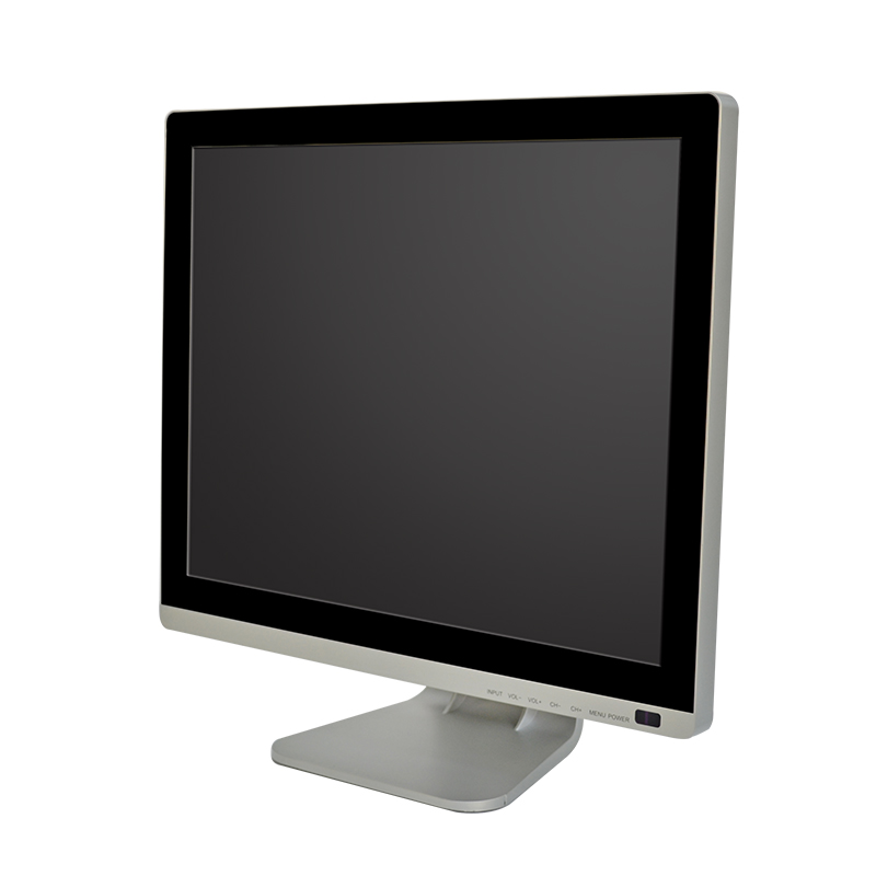 B150-C 15 inch monitor with stand side view