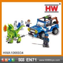 Funny Plastic Kids Dinasour Toy Building Bricks