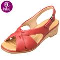 Анютины глазки комфорт обувь обратно пояса деревянные летние сандалии для женщин