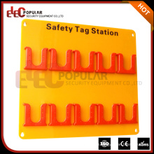 Elecpopular Customized Acryl Board mit ABS Material 10 Tagout Positionen Sicherheit Tag Station