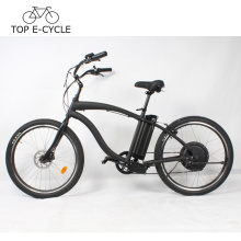 TOP E bike Vintage a2b Electric Cruiser Beach bicicleta 26inch bicicleta eléctrica China