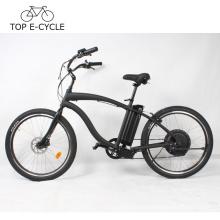 TOP E bike Vintage a2b Electric Cruiser Beach bicicleta 26inch bicicleta eléctrica China