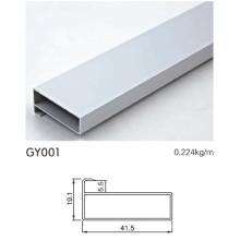 Perfil de aluminio de 41.5mm para el uso del gabinete de cocina