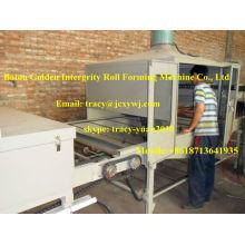 Machine à carreaux en tôle d'acier revêtue de pierre