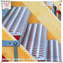 Aluminium de haute qualité / antidérapant / damier / plat pour des marches d'escalier