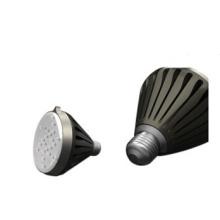 Marco de fundición a presión de aluminio LED con recubrimiento en polvo