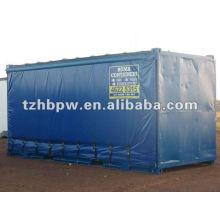Cortinas laterales de PVC para contenedores