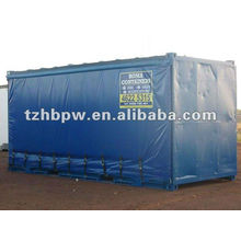 PVC side curtains for container