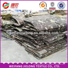Wholesale cotton and polyester printing fabric camouflage fabric textile printing military camouflage fabric for uniform