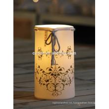 Lámpara de mesa de cerámica de la decoración 2015 / luz de tabla blanca de la decoración