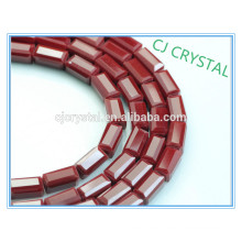 High quality cheap wholesale crystal jewelry rectangle beads in bulk