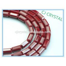 Alta qualidade barato grosso cristal jóia retângulo grânulos a granel