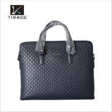 Pasta de couro genuíno Messenger Bag Laptop Bag bolsa de negócios dos homens Maleta