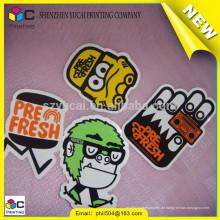 China-Lieferanten kundengebundener Karikaturaufkleberdrucken und bunter kundenspezifischer Aufkleberaufkleberdrucken