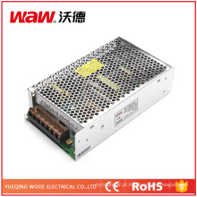 Fonte de alimentação do interruptor de 150W 24V 6A com proteção do curto-circuito