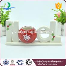 """Casa decoração sólida """"NOEL"""" sinal de cerâmica forma"""