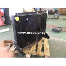 Refrigerador de óleo móvel com ventilador e cobertura