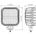 12V 56W 118mm Square LED Folklift Arbeitslicht