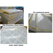 Polyurethane PU Sandwich Panel for Cold Room Camlock Style