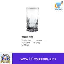 Machine Press-Blow Glass Tea Cup Drinking Cup Kb-Hn01040